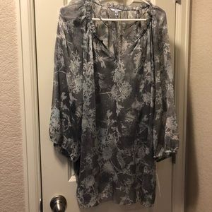 Sheer blouse new with tags